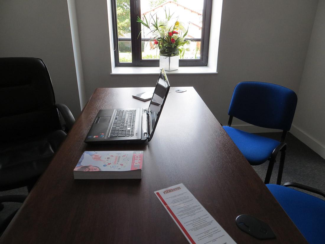 Location de bureaux équipés